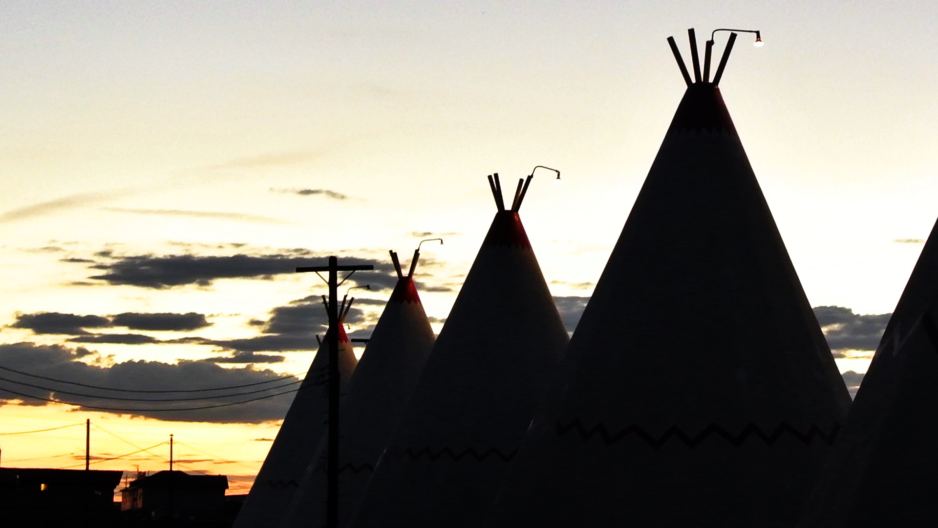"The Wigwam Motels, also known as the ""Wigwam Villages"", is a motel chain in the United States built during the 1930s and 1940s."