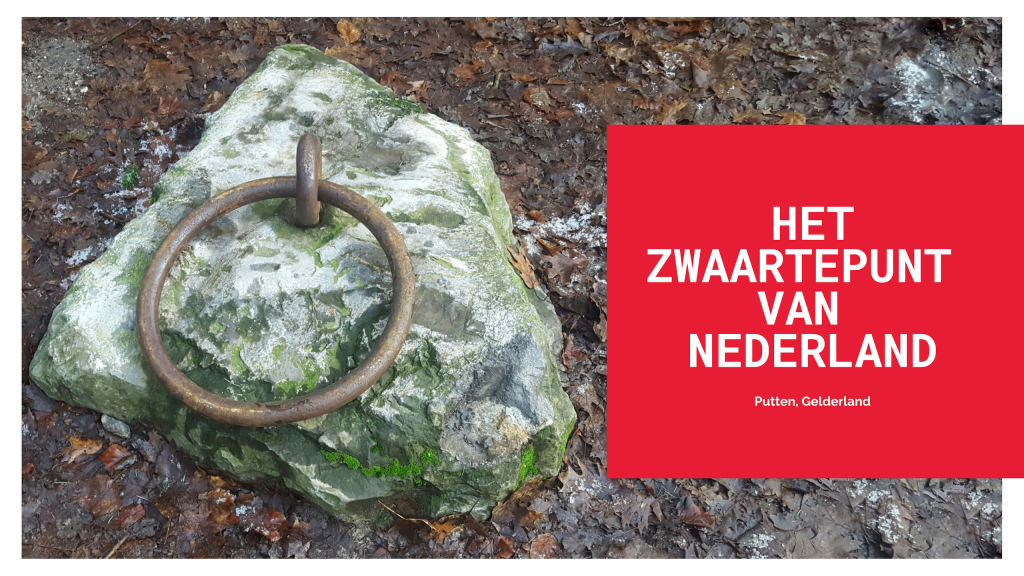 Het zwaartepunt van het droge landoppervlak van Nederland.