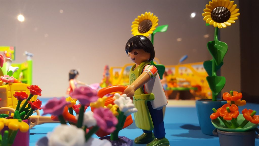 Deze Playmobil vind je op de eigen Playmobil-afdeling in het Mechelse Speelgoedmuseum.